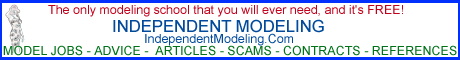 Independent Modeling. Changing the business of modeling.